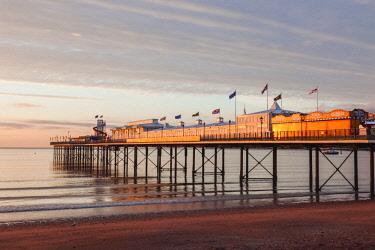 TPX61008 England, Devon, Paignton Pier and Beach