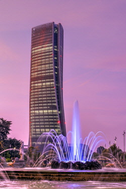 ITA113366AW Generali Tower or Hadid Tower, Milan, Lombardy, Italy