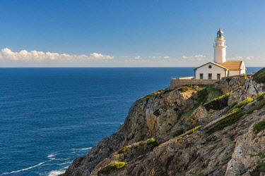 SPA7350AW Cala Ratjada lighthouse, Capdepera, Majorca, Balearic Islands, Spain