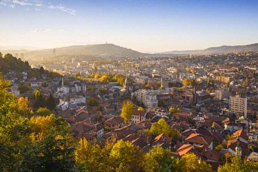 BH01092 Bosnia and Herzegovina, Sarajevo, View of City