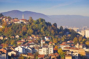 BH01103 Bosnia and Herzegovina, Sarajevo, City  view