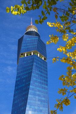 BH01111 Bosnia and Herzegovina, Sarajevo, Avaz Twist tower