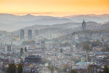 BH01122 Bosnia and Herzegovina, Sarajevo, View of Sarajevo City