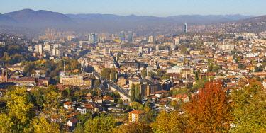 BH01177 Bosnia and Herzegovina, Sarajevo, View of Sarajevo City