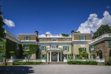 US61683 USA, New York, Hudson Valley, Hyde Park, President Franklin D. Roosevelt National Historic Site, Springwood, former presidents home