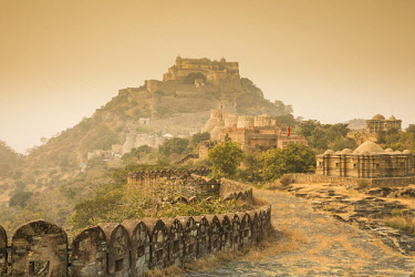 Kumbhalgarh fort (UNESCO World Heritage Site), Rajasthan, India