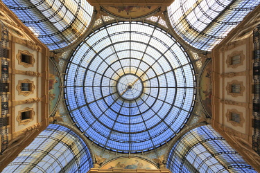 IBXPSE04243905 Galleria Vittorio Emanuele II, gallery, Milano, Milan, Lombardy, Lombardy, Italy, Europe