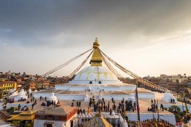 CLKMN68650 Stupa of Boudhnath,Katmandu,Nepal