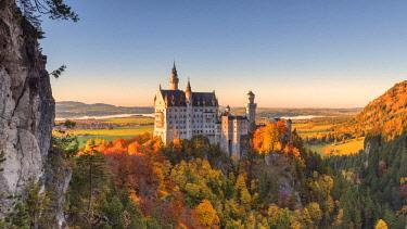 CLKSS70451 Germany, Bavaria, southwest Bavaria, Fussen, Schwangau, Neuschwanstein Castle
