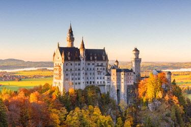 CLKSS70452 Germany, Bavaria, southwest Bavaria, Fussen, Schwangau, Neuschwanstein Castle