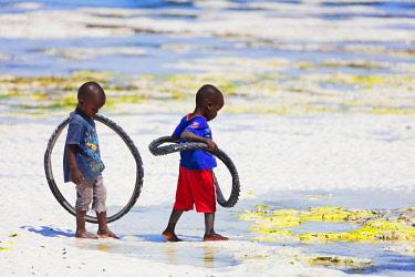 TZ3529 East Africa, Tanzania, Zanzibar island; Paje
