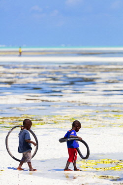 TZ3530 East Africa, Tanzania, Zanzibar island; Paje