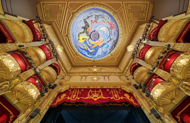 Europe, Scotland, Lothian, Edinburgh, King's Theatre Interior