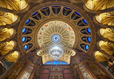 SCO34845AW Europe, Scotland, Lothian, Edinburgh, McEwan Hall Interior