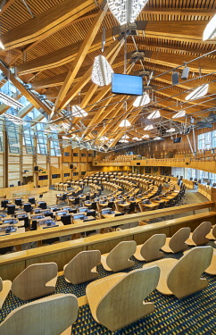 SCO34891AW Europe, Scotland, Lothian, Edinburgh, Scottish Parliament Building Interior