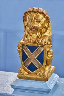 SCO34893AW Europe, Scotland, Lothian, Edinburgh, Canongate Kirk, Scottish Lion