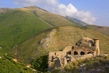 HMS2185564 Albania, Kalaja-Borshit Monastery