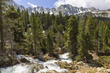 HMS2228934 Andorra, Escaldes Engordany, the Madriu-Perafita-Claror valley, listed as World Heritage by UNESCO