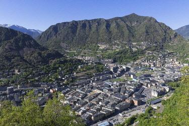 HMS2228952 Andorra, Andorra La Vella, capital city of Andorra state, Escaldes-Engordany