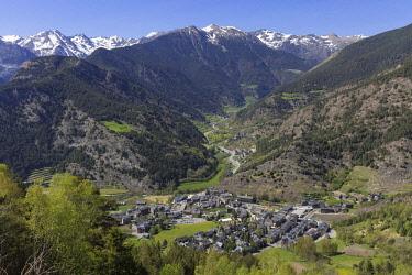 HMS2228953 Andorra, Ordino village, Valira del Nord