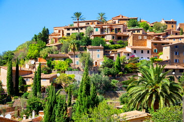 SPA7432AWRF Deia village, Deia, Mallorca, Balearic Islands, Spain, Europe