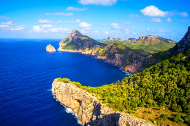 SPA7391AW Cap de Formentor, Mallorca, Balearic Islands, Spain, Europe
