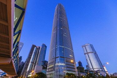 TPX62042 China,Hong Kong,City Skyline and International Finance Centre Building (IFC)