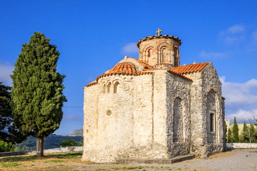 HMS3110701 Greece, Crete, Rethymnon district, Amari valley, Lambini, Byzantine church of Panagia Lambini