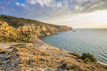 HMS3113608 Greece, Crete, Heraklion district, surroundings of Matala, Messara bay, Kommos (or Komos) beach