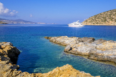 HMS2952828 Greece, Cyclades islands, Amorgos island, Katapola bay