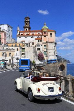 HMS3181242 Italy, Campania, Amalfi Coast, listed as World Heritage by UNESCO, Atrani