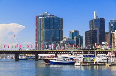 AUS3052AWRF Barangaroo and Darling Harbour, Sydney, New South Wales, Australia