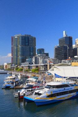 AUS2857AW International Towers Sydney in Barangaroo, Darling Harbour, Sydney, New South Wales, Australia