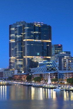 AUS2870AW International Towers Sydney in Barangaroo, Darling Harbour, Sydney, New South Wales, Australia