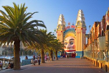 AUS3034AW Luna Park, Sydney, New South Wales, Australia