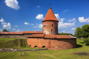 HMS2008504 Lithuania (Baltic States), Kaunas County, Kaunas, Kaunas castle from the 13th century