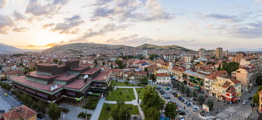 HMS1997360 Republic of Macedonia, Bitola, general view of downtown