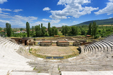 HMS2236940 Republic of Macedonia, 2 kms from Bitola, the ruins of Heraclea Lyncestis founded by Philip of Macedon in the middle of the fourth century BC AD