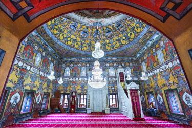 HMS2236953 Republic of Macedonia, Tetovo, Ottoman mosque painted