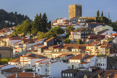 HMS2686058 Portugal, Douro, Lamego, northern region, district of Viseu, the old town and the castle