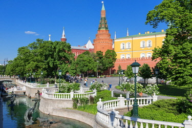 HMS1952659 Russia, Moscow, Alexander Gardens