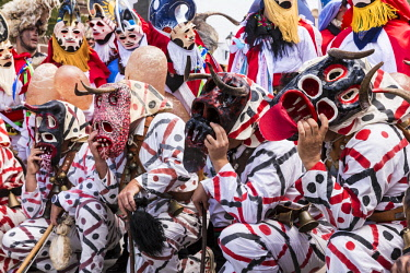 HMS3037247 Spain, Canary islands, Lanzarote island, Teguise, the carnival