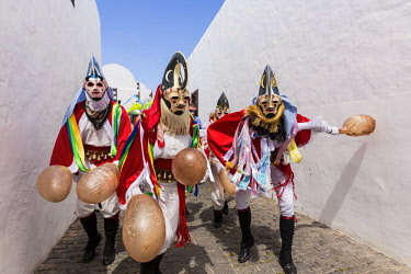 HMS3037250 Spain, Canary islands, Lanzarote island, Teguise, the carnival