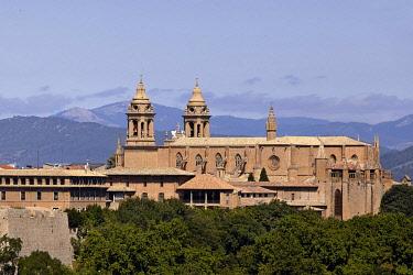 HMS2503248 Spain, Navarra, Pamplona, Cathedral of Royal Saint Mary