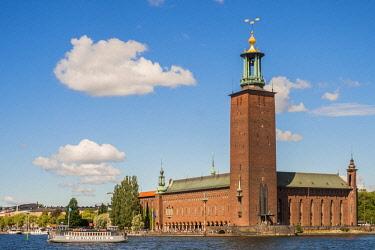 HMS3179783 Sweden, Stockholm, Kungsholmen district, Stadshuset (city hall)