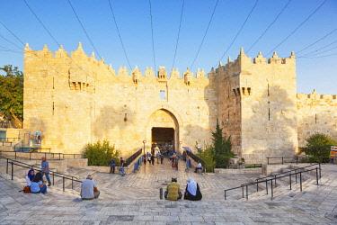 ISR0411 Israel, Jerusalem. The Damascus Gate.