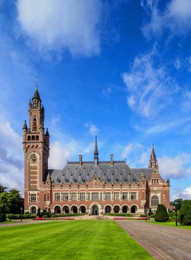 NLD0616AW Peace Palace, The Hague, South Holland, The Netherlands