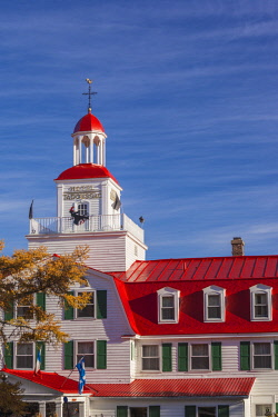 CA04210 Canada, Quebec, Cote Nord Region, Saguenay Fjord, Tadoussac, Hotel Tadoussac