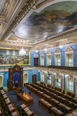 CA04270 Canada, Quebec, Quebec City, Hotel du Parlement, Quebec Provincial Legislature, Legislative Council Chamber