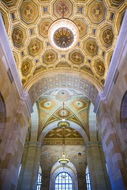 CA04321 Canada, Quebec, Montreal, Royal Bank Building, lobby interior